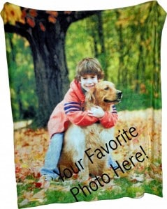 Throw Photo Blanket