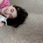 Tiny White Chihuahua Puppy