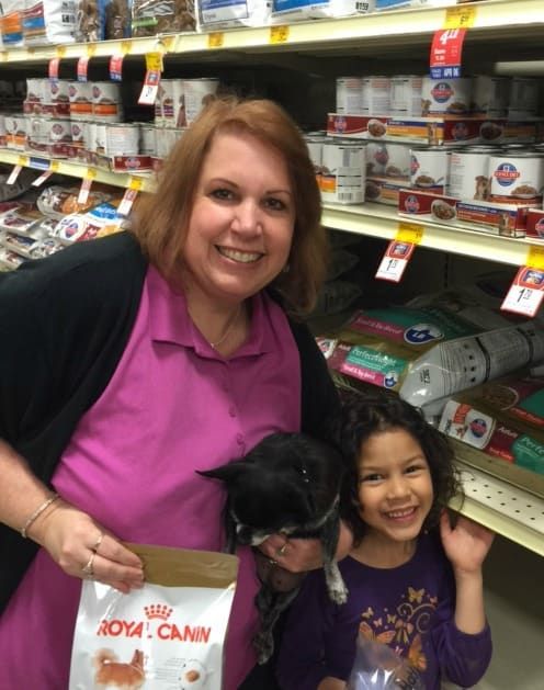 Cathy,Kilo,and May in PetSmart
