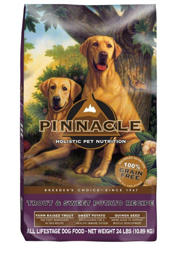 Pinnacle dog food