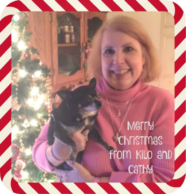 Merry Christmas from Cathy and Kilo