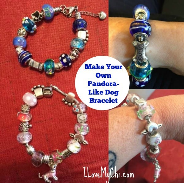 Make your own Pandora like dog bracelet