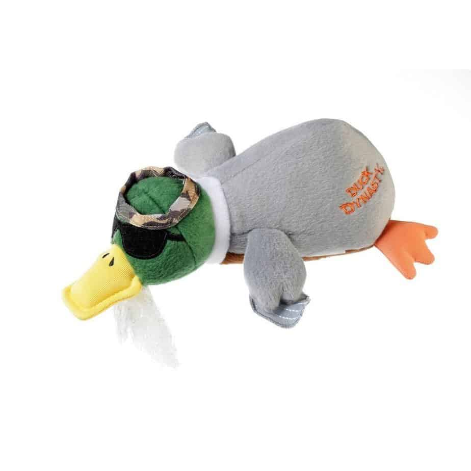 Duck Dynasty DD800004 Phil Duck with Chew Guard Technology Tough Plush Dog Toy, Small