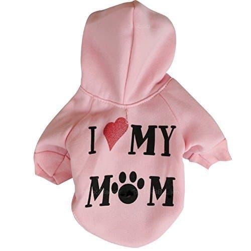 I Love My Mom Hoodie