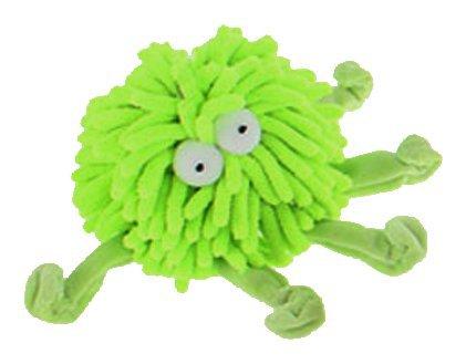 Multipet Sea Shammie 6-Inch Plush Octopus Dog Toy, Green