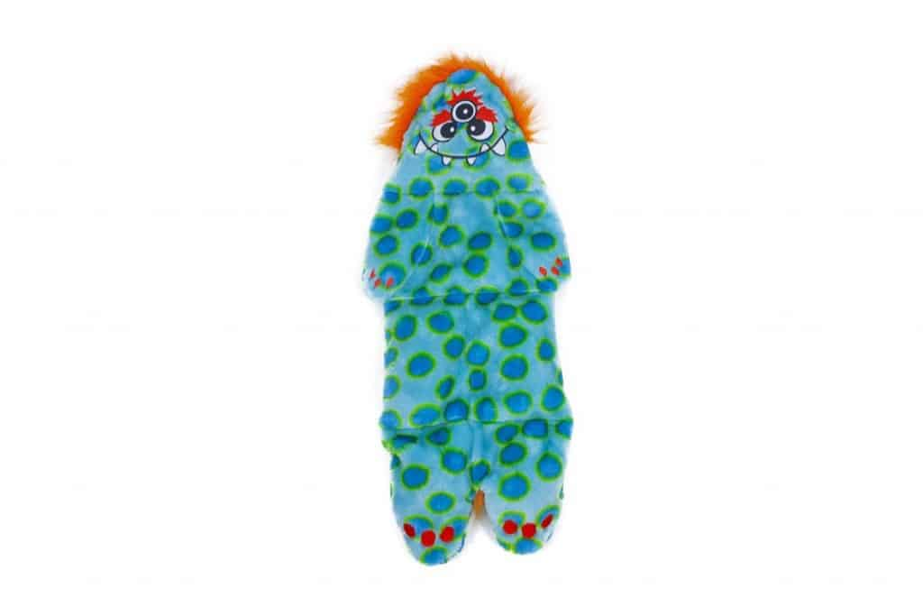 Outward Hound Kyjen Squeakimals Squeaking Plush Dog Toy, 3 Eyed Monster