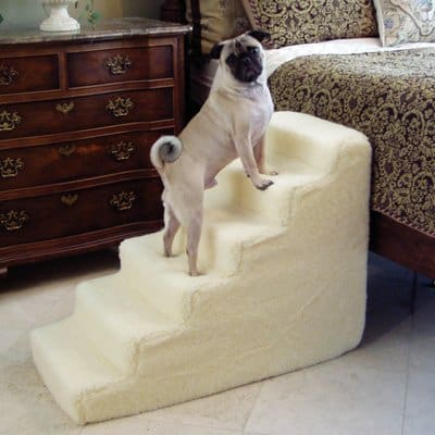 Pet Stairs Petstairz 6 Step High Density Foam Pet Step