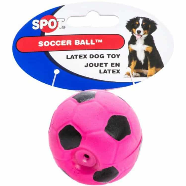 Spot Soccer Latex Ball Dog Toy