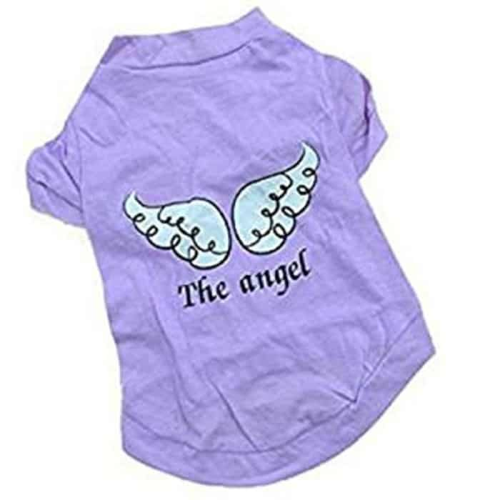 cute angel shirt for small dogs