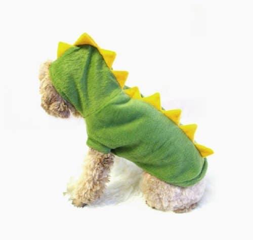 Dinosaur dog costume