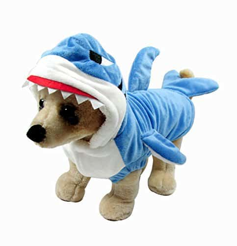 shark costume for dogs