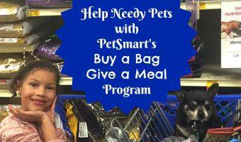 Help Needy Pets with PetSmart's Buy a Bag, Give a Meal Program
