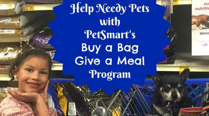 Help Needy Pets with PetSmart's Buy a Bag, Give a Meal Program