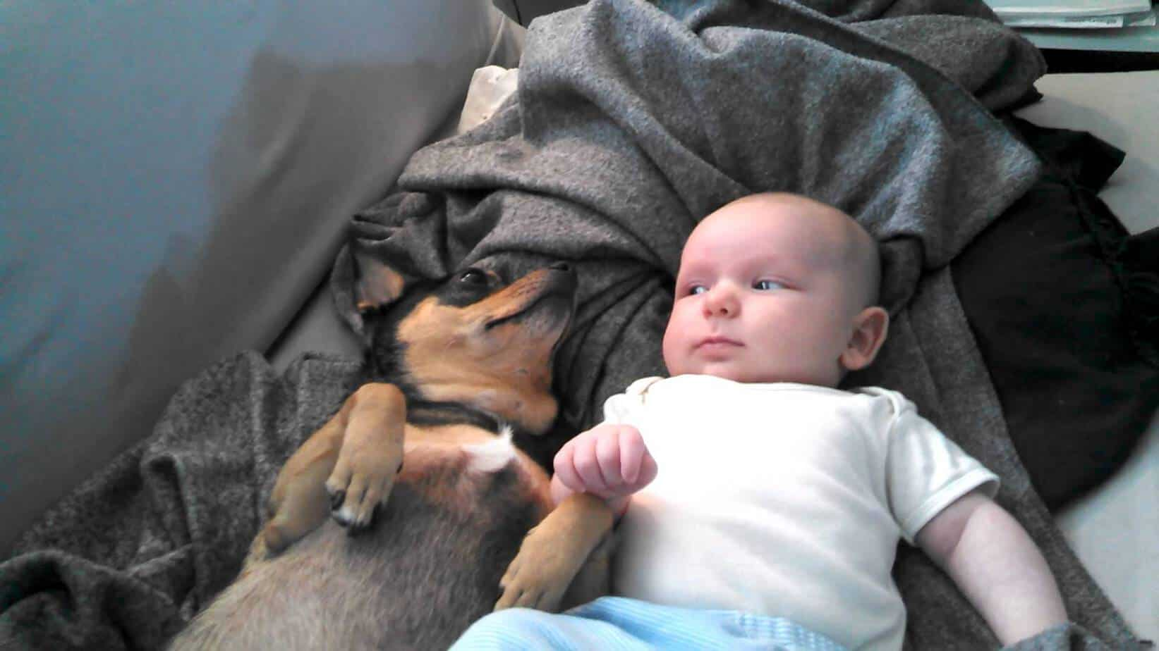 Baby and Chi Chilling