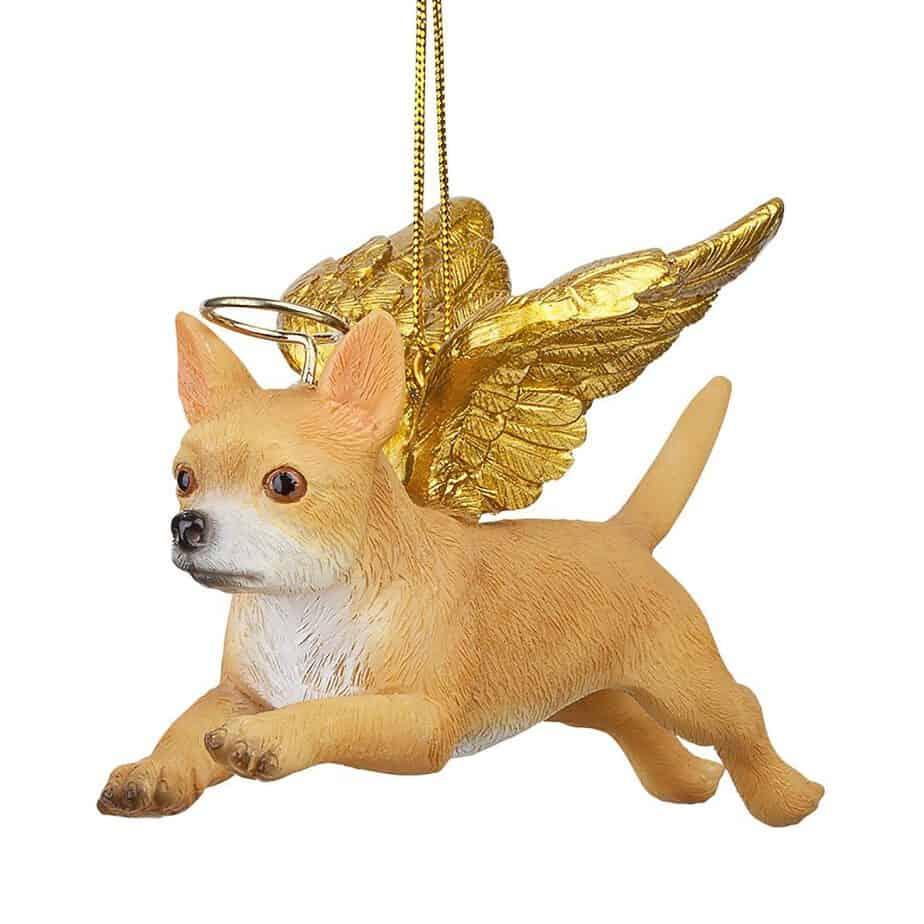 Chihuahua Holiday Angel Dog Ornament
