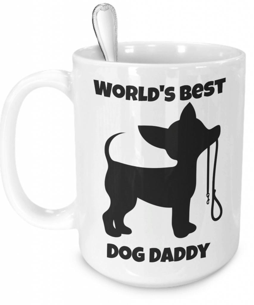 World's Best Dog Daddy Mug