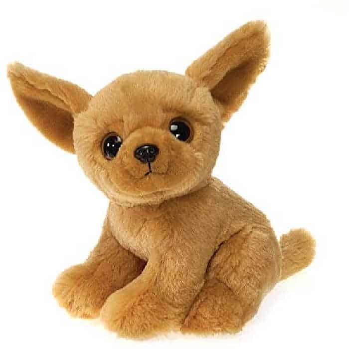 stuffed chihuahua toy
