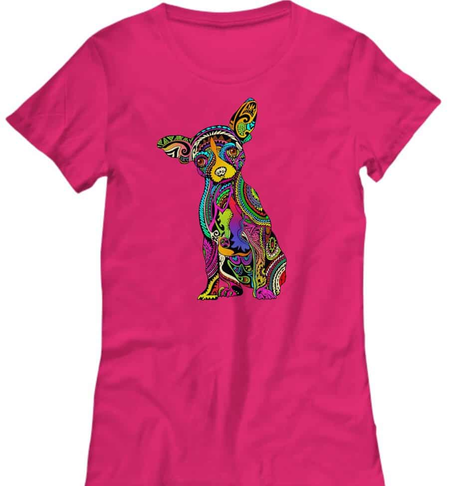 Chihuahua Colorful Shirt