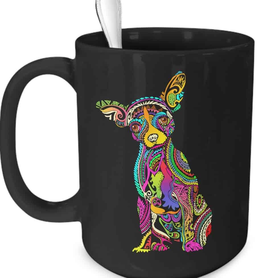 Colorful Chihuahua Coffee Mug