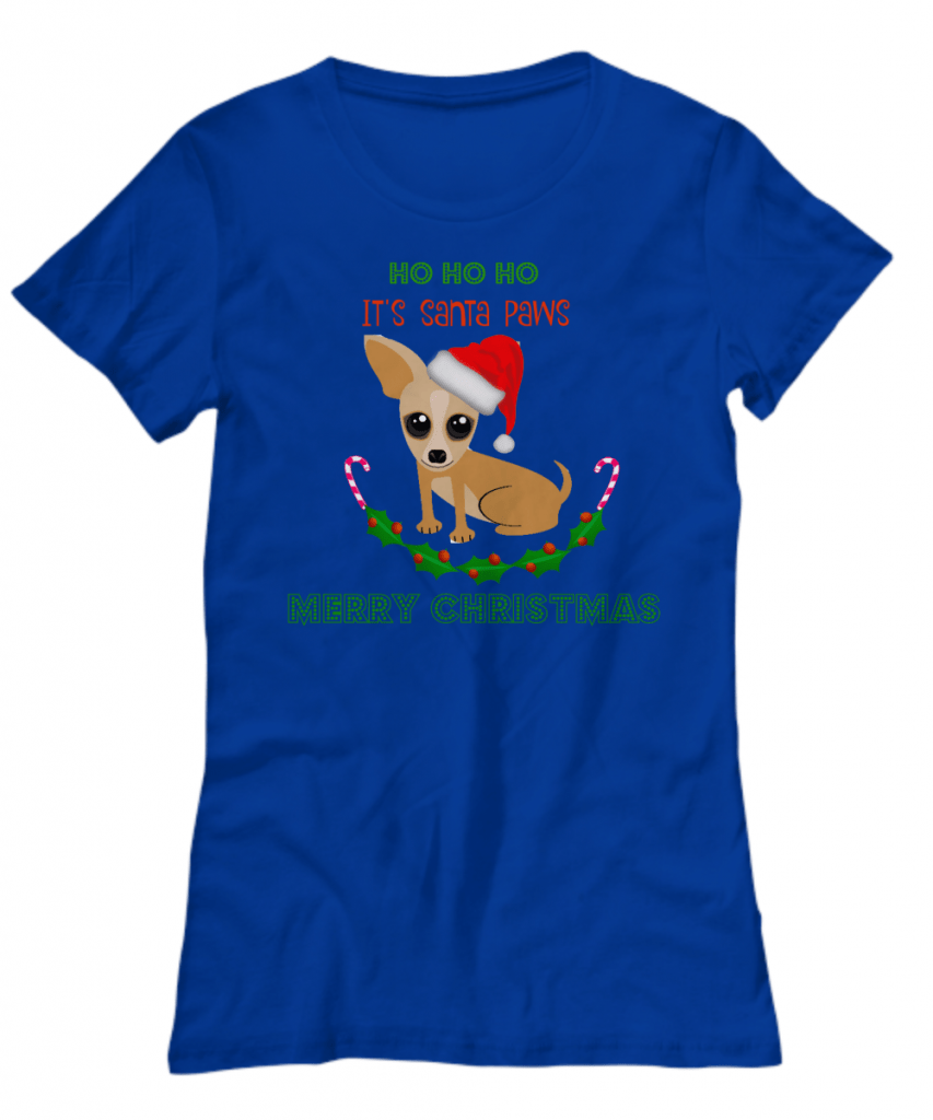 Santa Paws Christmas shirt