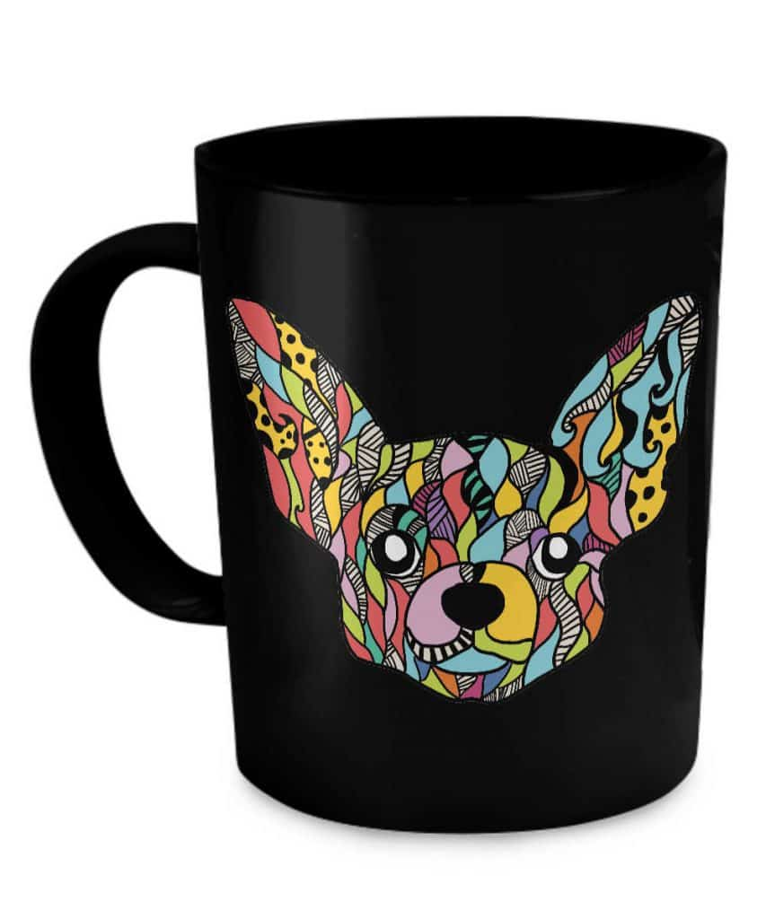 Colorful Chi Face Mug