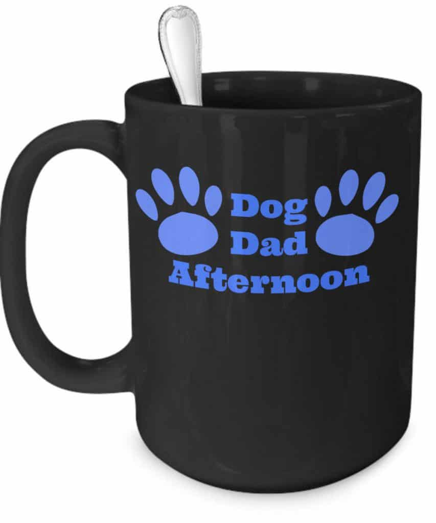 Dog Dad Afternoon Mug