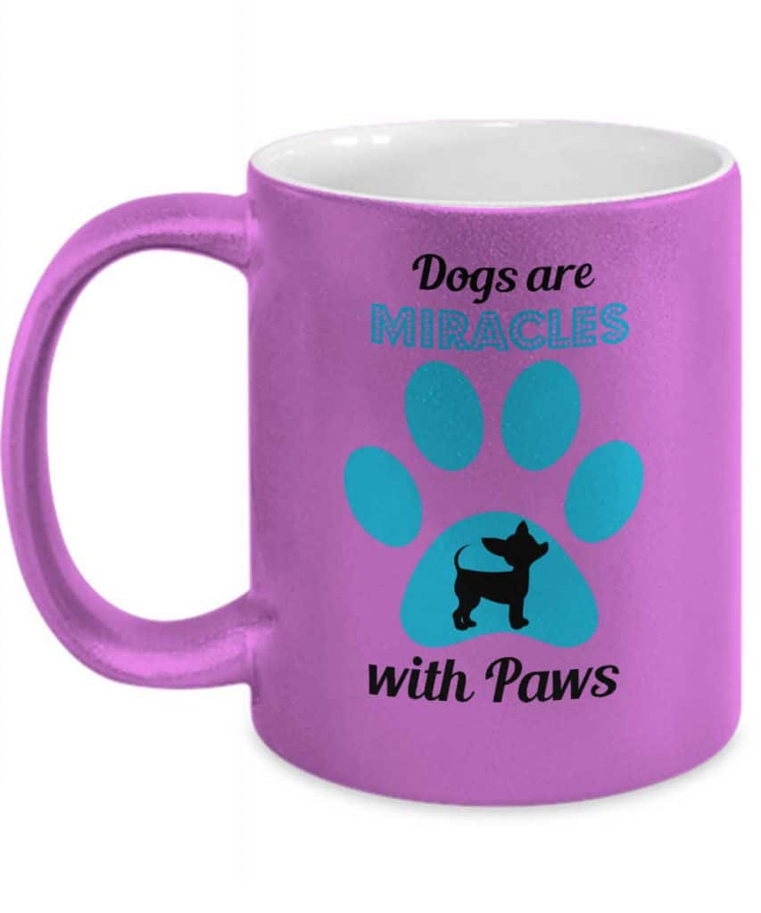 Dogs are Miracles Mug
