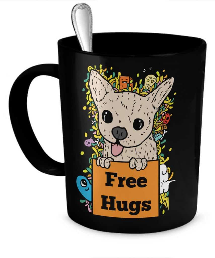 Free Hugs Chihuahua Mug