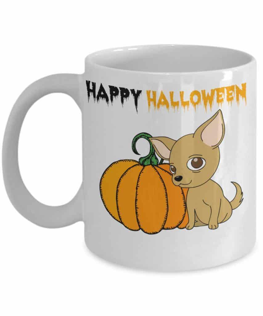 Happy Halloween Chihuahua Mug