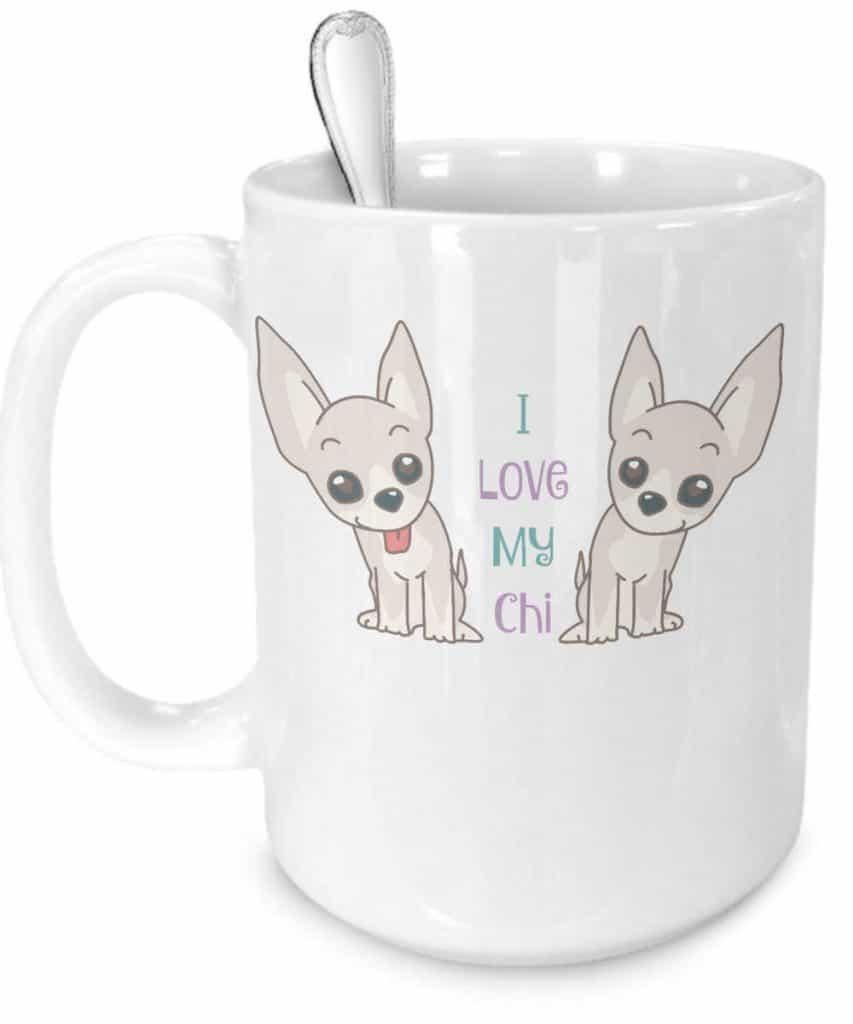 I Love My Chi Mug