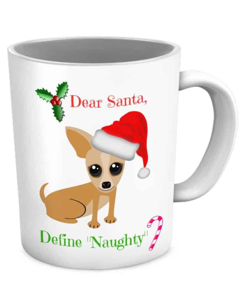 Naughty Chihuahua Mug