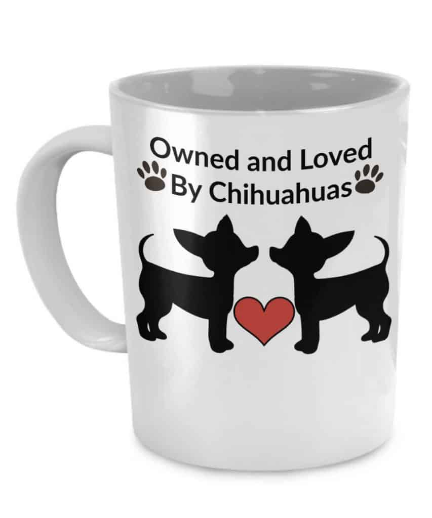 Owned by Chihuahuas Mug