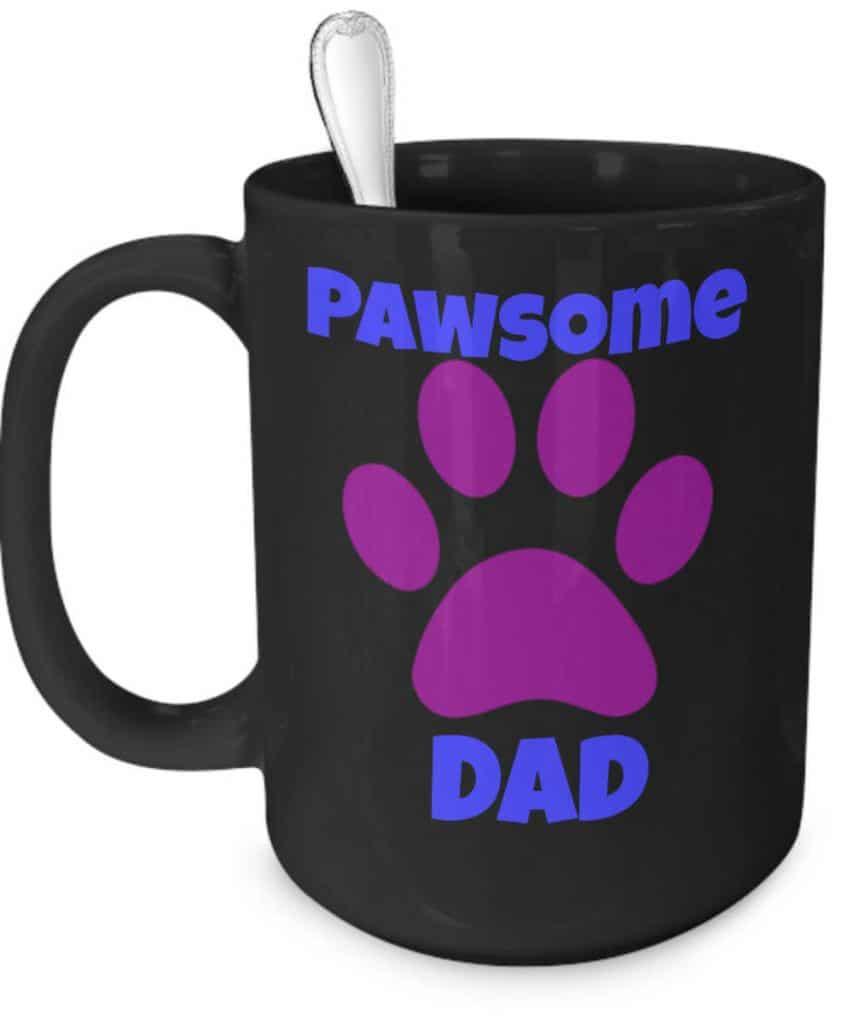 Pawsome Dad Mug