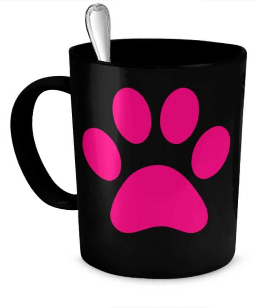 Pink Paw Mug