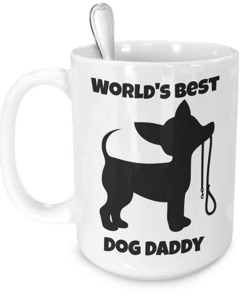 World's Best Dog Daddy Mug