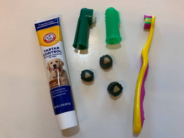 Tooth brush supplies