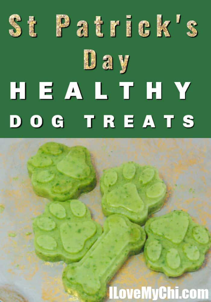 green dog treats